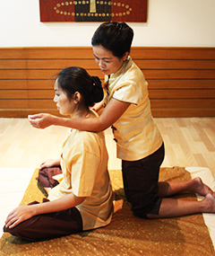 Thai Back, Shoulder & Head Massage